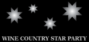 Wine Country Star Party Logo
